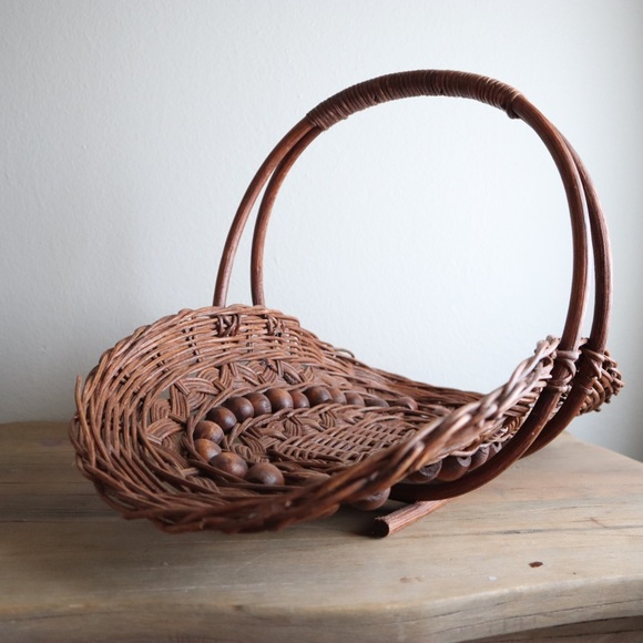 Cottage Garden Flower Basket Trug